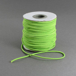 Light Green Elastic Cord 2mm Round 40m Roll