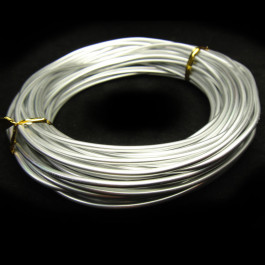 Aluminum Wire (2mm) Beading Wire 12m Roll