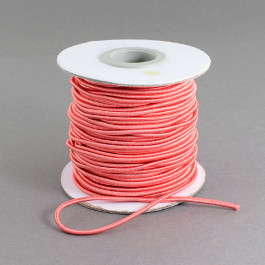 Salmon Elastic Cord 2mm Round 30m Roll