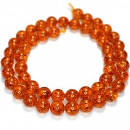 Imitation Amber 8mm Round Beads
