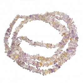 Ametrine 3x5mm Chip Beads