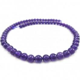 Amethyst 6mm Round Beads