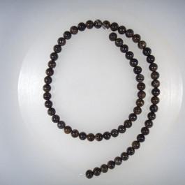 Bronzite 6mm Round Beads