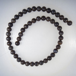 Bronzite 8mm Round Bead