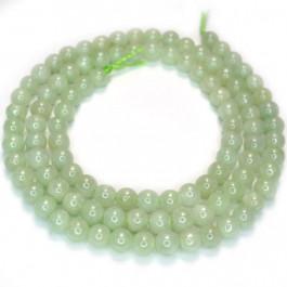 Burma Jade 4mm Round Beads