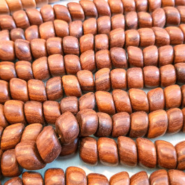 Bayong Oblique Nugget Wood Beads
