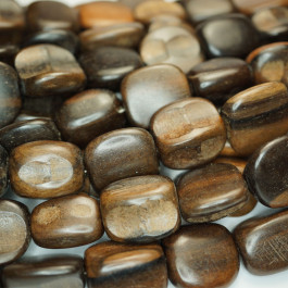 Kamagong (Tiger Ebony) Rough Chunk Wood Beads