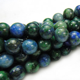 Chrysocolla 6mm Round Beads