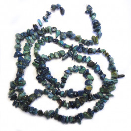Chrysocolla Chip Beads