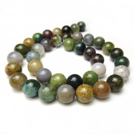 Fancy Jasper Round 10mm Beads