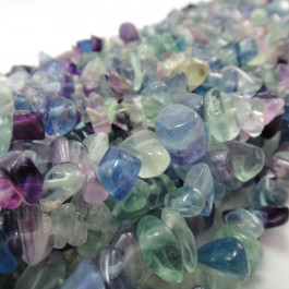 Fluorite Large Chip Beads