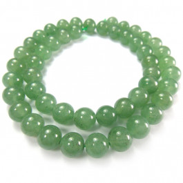 Green Aventurine 8mm Round Beads