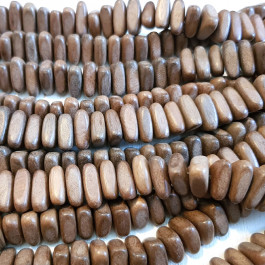 Greywood Triangle Wood Beads
