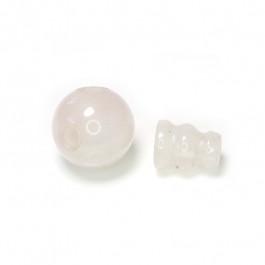 Rose Quartz Guru Bead 10mm