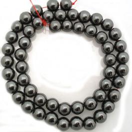 Hematite 8mm Round Beads