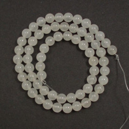 Xingjiang Jade 6mm Round Beads