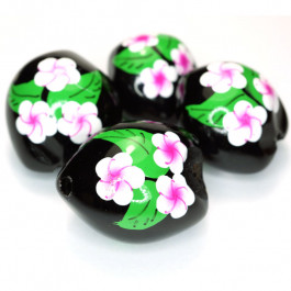 Kukui Nut Black With Frangipani (Pack 4)