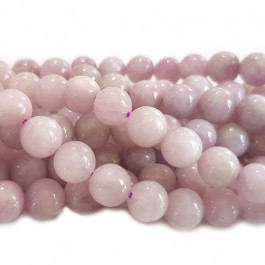 Kunzite 8mm Round Beads
