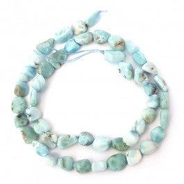 Larimar Nugget Beads