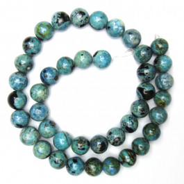 Larimar 10mm Round Beads