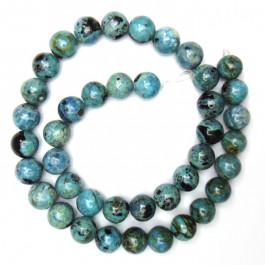 Larimar 10mm Round Beads