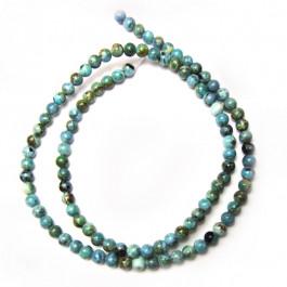 Larimar 4mm Round Beads