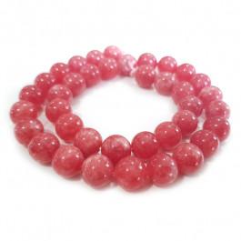 Malay Jade Rhodochrosite Colour 10mm Round Beads