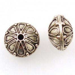 Tibetan Silver 20x14mm Beads (Pack 2)