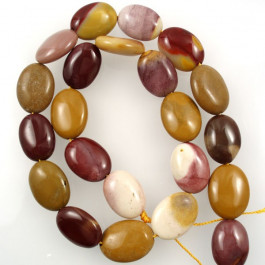 Mookaite 13x18mm Oval Beads