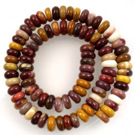 Mookaite 5x8mm Rondelle Beads