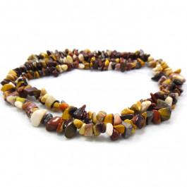 Mookaite Chip Beads