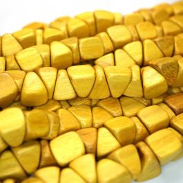 Nangka Triangle Nugget Wood Beads