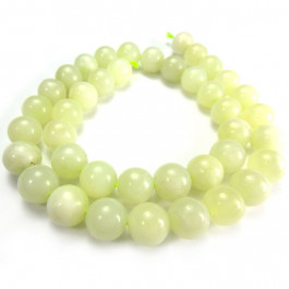 New Jade 10mm Round Beads