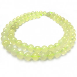 New Jade 6mm Round Beads