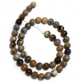 Ocean Jasper 8mm Round Beads
