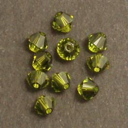 Swarovski® 4mm Padparadascha Bicone Xilion Cut Beads (Pack of 10)