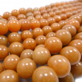 Red Aventurine 10mm Round Beads