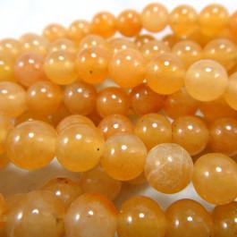Red Aventurine 6mm Round Beads
