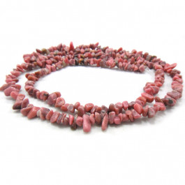 Rhodonite Chip Beads