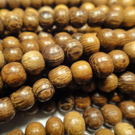 Robles Round Wood Beads