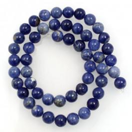Sodalite 8mm Round Beads