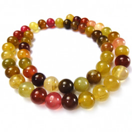 Soocho Jade 8mm Round Beads