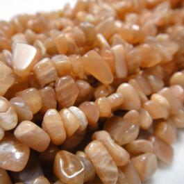 Sunstone Chip Beads