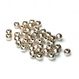 Tibetan Silver 4mm Plain Round Beads