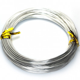 Aluminum Wire (1.5mm) Beading Wire 10m Roll