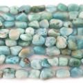 Larimar Nugget Beads