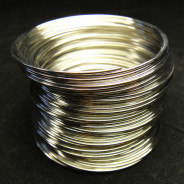 Stainless Steel 0.6mm Memory Wire 5.5cm wide, ~60 circles.