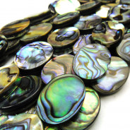Abalone 13x18mm Oval Beads
