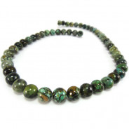 African Turquoise Round 8mm Beads