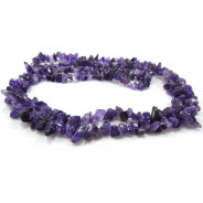 Amethyst Chip Beads